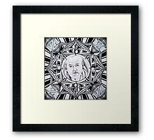 """""""Steve Zissou, AKA: Bill Murray"""" Framed Print"""