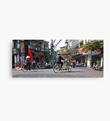Old Quarter, Hanoi Canvas Print