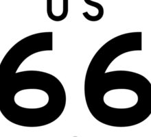 Historic Route 66 - The Mother Road - Pasadena Sticker