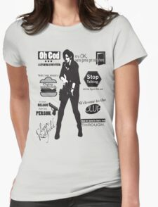 Claire Womens Fitted T-Shirt
