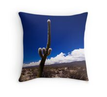 Cactus Tall Throw Pillow