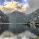 Farewell to the Beauty of the Sognefjord by Larry Lingard-Davis