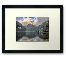 Farewell to the Beauty of the Sognefjord Framed Print
