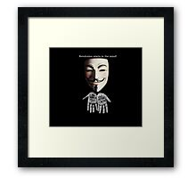 Intellectual Revolution Framed Print