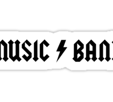 30 Rock - Music Band Sticker