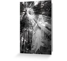 Our Lady of the Woods Card Greeting Card