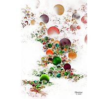 'Bubble Flow' Photographic Print