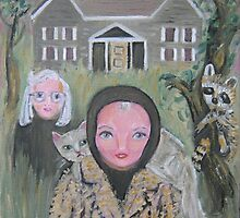 Grey Gardens by sharonkfolkart
