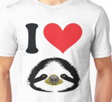 I HEART SLOTH Unisex T-Shirt