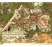 The Gingerbread House Photographic Print