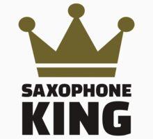 Saxophone king crown Kids Clothes