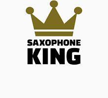 Saxophone king crown Unisex T-Shirt