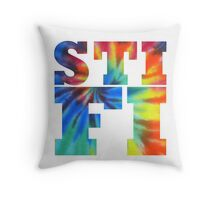 STIFI Sticky Fingers Logo Throw Pillow