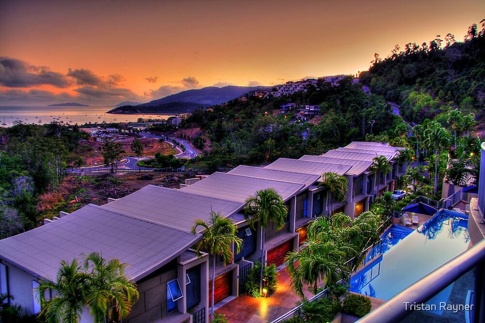 Balcony View by Tristan Rayner