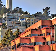 Coit Tower San Francisco by Paul J. Owen