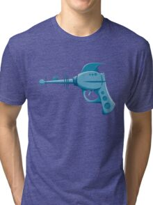 Retro Ray Gun  Tri-blend T-Shirt
