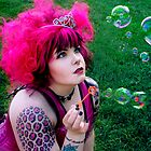 Bubbles Pink by Lividly Vivid