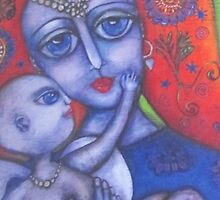 Mother And Her Baby Angel by Birchwood1