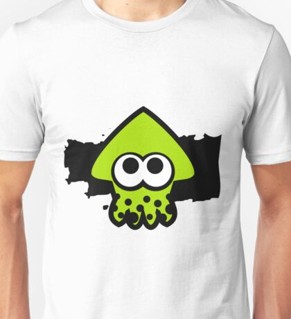 Splatoon Squid (Green) Unisex T-Shirt