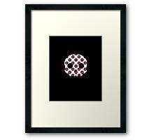 Skull Japanese Blossom Framed Print