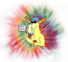 Hang Loose Moose by Lewis Aunger