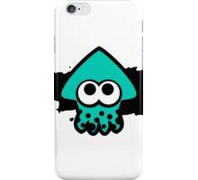 Splatoon Squid (Light Blue) iPhone Case/Skin