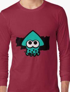 Splatoon Squid (Light Blue) Long Sleeve T-Shirt