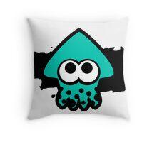 Splatoon Squid (Light Blue) Throw Pillow