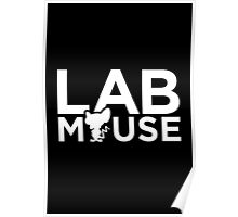 Lab Mouse Poster