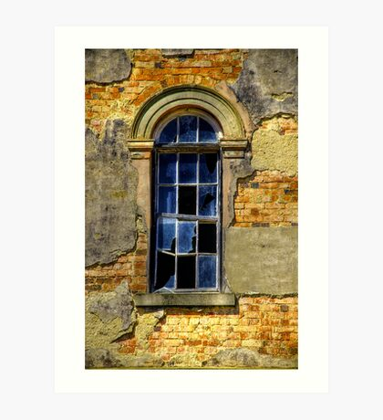 Window at Mayday Hills Art Print