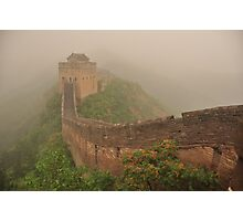 Great Wall of China Photographic Print