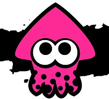 Splatoon Squid (Pink) by RocketClauncher