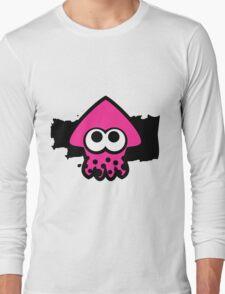 Splatoon Squid (Pink) Long Sleeve T-Shirt