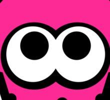 Splatoon Squid (Pink) Sticker