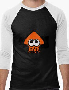 Splatoon Squid (Orange) Men's Baseball ¾ T-Shirt