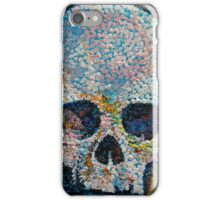 Pointillism Skull iPhone Case/Skin