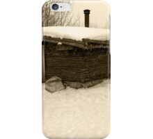 Old Sod House iPhone Case/Skin