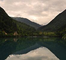 Jiuzhaigou Valley  by Rikki Frederiksen