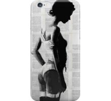 fille iPhone Case/Skin