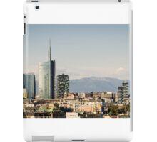 Milano (Italy), skyline with new skyscrapers iPad Case/Skin