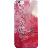Palette Art - Abstract Pink and Red iPhone Case/Skin