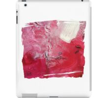 Palette Art - Abstract Pink and Red iPad Case/Skin