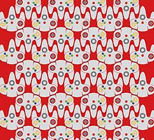 64 Controller Pattern by Pipper Digs