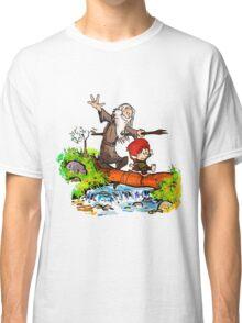 Gandalf and Bilbo calvin hobes Classic T-Shirt