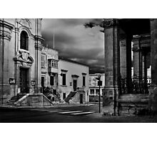 Baroque Valletta Photographic Print