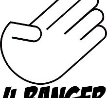 4 Banger Decal (White) by harrison44