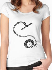 Falling  Women's Fitted Scoop T-Shirt