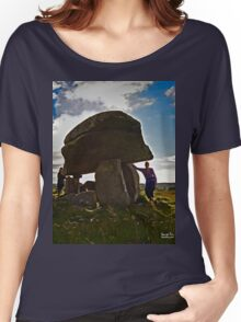 Kilclooney Dolmen, County Donegal Women's Relaxed Fit T-Shirt