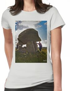 Kilclooney Dolmen, County Donegal Womens Fitted T-Shirt