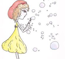 bubbles by madalene